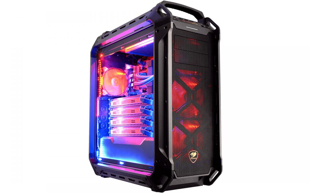 Cougar PANZER MAX case review